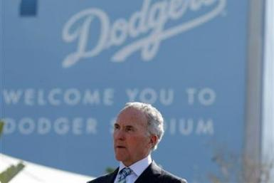 Los Angeles Dodgers owner Frank McCourt