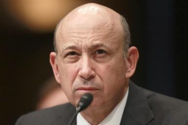 Goldman Sachs Chairman and CEO Lloyd Blankfein testifies in Washington