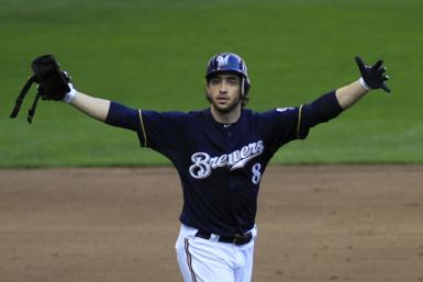 Ryan Braun was originally suspended for 50 games after testing positive for a banned substance in October.