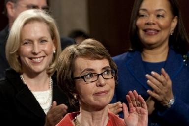 Gabrielle Giffords at State of the Union