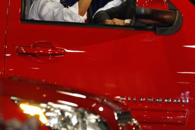 Obama Washington Auto Show