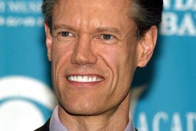 Country star Randy Travis smiles backstage at the 39th annual Academy of Country Music Awards at the..