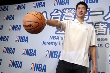 Jeremy Lin at an Asian Press Conference After Being Picked up by the Warriors