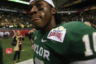 Roberts Griffin III is participating at this year's Combine, which will take place from Feb. 22-28 in Indianapolis.