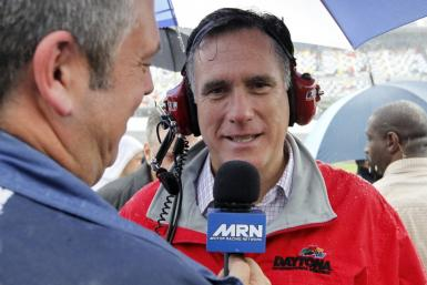 Mitt Romney Tries to Relate to NASCAR Fans: My Friends Own Teams