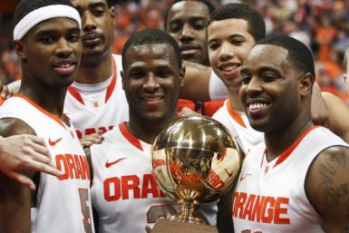 Syracuse won the Big East Regular Season Title this year with just one loss in the conference.