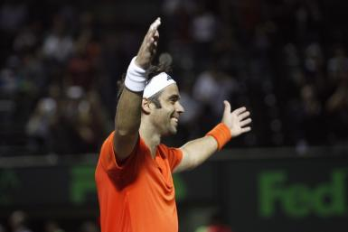 Fernando Gonzalez retired from tennis yesterday, in Miami, after which a tribute video, featuring Federer, Nadal, Djokovic and Murray was played.