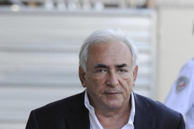 Former IMF chief Dominique Strauss-Kahn in a file photo from September 2011.