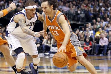 Steve Nash is averaging 14.5 points and 8.6 assists per game for his career.