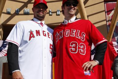 Many people are picking the Angels to win the World Series after signing Albert Pujols and C.J. Wilson in the offseason.