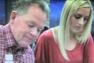 Jessica Dorrell and Petrino at a signing event the week before the accident.