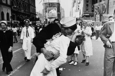 V-J Day Kiss In Times Square