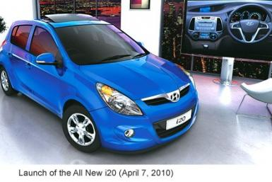The Hyundai i20, one of the diesel cars the company plans to increase the supply of.