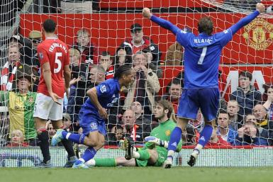 Watch highlights of Manchester United Vs. Everton in the Premier League.