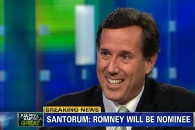 Did Rick Santorum Just Endorse Mitt Romney? Draw Your Own Conclusion [VIDEO]
