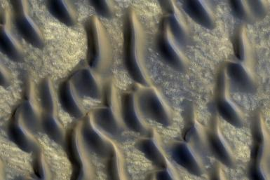 Martian Glass Indicates Water, Possibly Life, On The Red Planet
