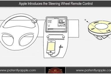 Apple Patents Steering Wheel Remote Control For Safer 'Hands-Free' Driving