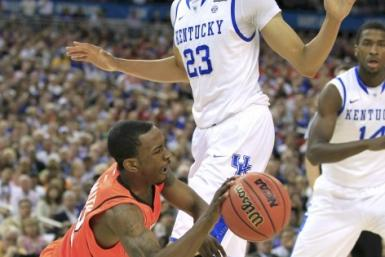 Anthony Davis led Kentucky to a national championship in his freshman year.