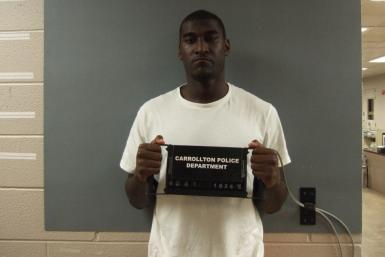 Justin Blackmon's mug shot from his first DWI arrest in 2010.