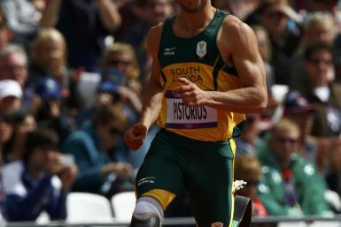 South Africa's Oscar Pistorius