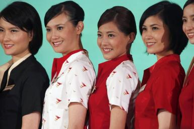 Cathay Pacific Flight Attendants