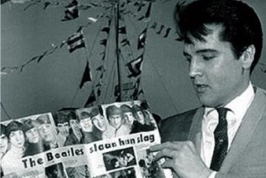 Elvis Presley and The Beatles