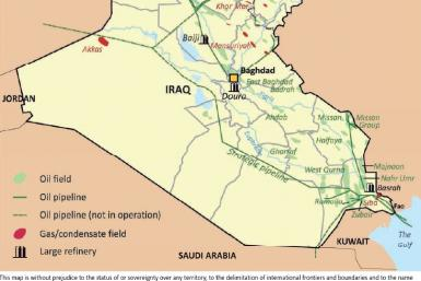 Iraq hydrocarbon resources and infrastructure