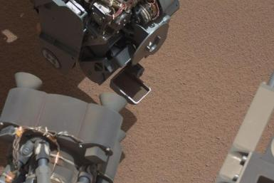 NASA's Curiosity Rover Spots Shiny Object On Martian Surface