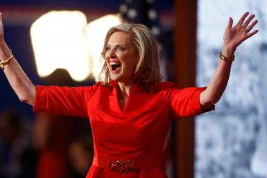 Ann Romney Oscar de la Renta Debate dress
