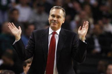 This is Mike D'Antoni's fourth head coaching job.