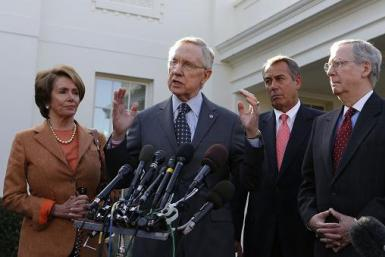 Boehner Reid 17 Pelosi Nov 2012 FC post meeting 2