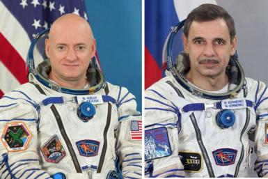 NASA, Roscosmos Assign Veteran Crew To Yearlong Space Station Mission In 2015