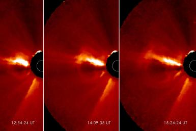 Sun Eruption Captured by STEREO