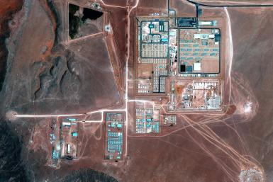 Ain Amenas Natural-Gas Field in Algeria