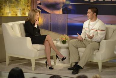 katie couric Manti Teo