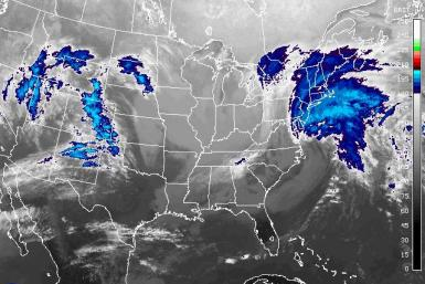 Color-Enhanced Satellite Imagery Of Nemo