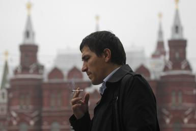 Russia smoking
