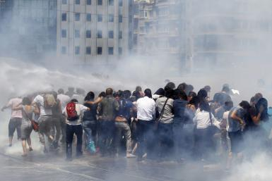 Taksim Square Protests Istanbul