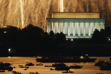independence day-lincoln memorial