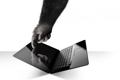 Gorilla Glass Notebook
