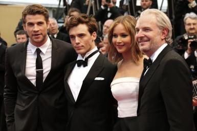 """The Hunger Games: Catching Fire"" Cast"