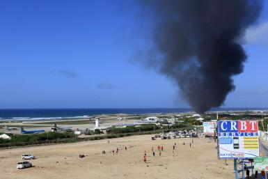 Plane crash in Mogadishu, Somalia