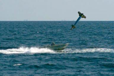 Speed Boat Laser Guided Bomb