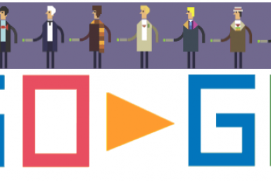 'Doctor Who' Google Doodle