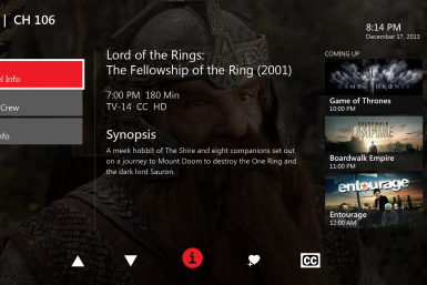 Xbox One Verizon App FiOS TV Microsoft