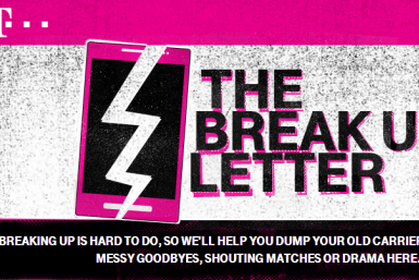 T-Mobile Break-up Letter