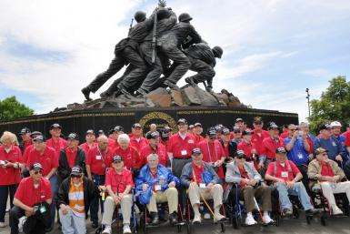 US Marine Corp Memorial May 2010 by Shutterstock 2