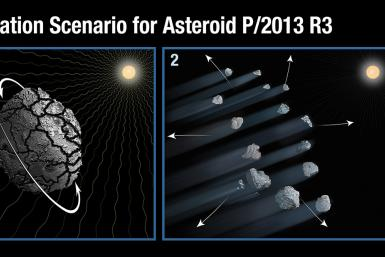 Hubble-asteroid