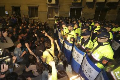Taiwan student protests