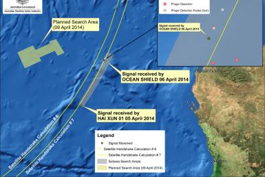 Flight MH370 Search Overview April 9
